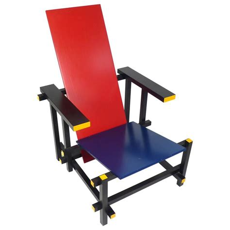 vintage gerrit rietveld chair produced under license by