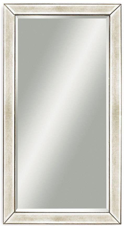 beaded leaner mirror beaded ant leaner mirror m2546bec bassett mirror