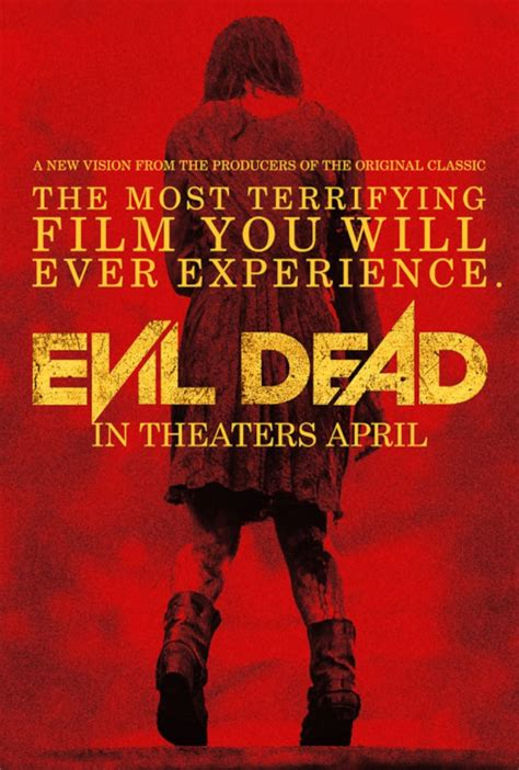 film horor evil dead 2013 evil dead 2013 horrorpedia