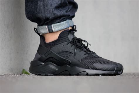 Nike Huarache Black White Bnib 100 2 bnib new nike air huarache run ultra br trainer black white 8 9 10 11
