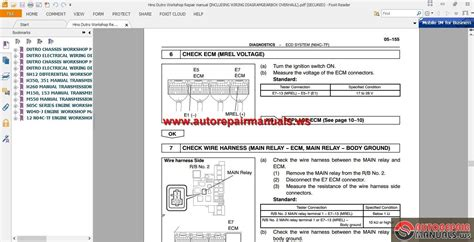 hino wiring diagram schematic 29 wiring diagram images