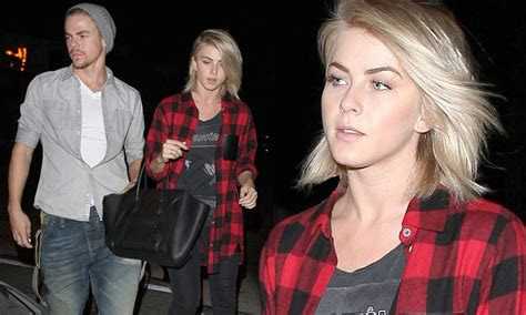Julianne and Derek Hough find time for each other as they head for dinner   Daily Mail Online
