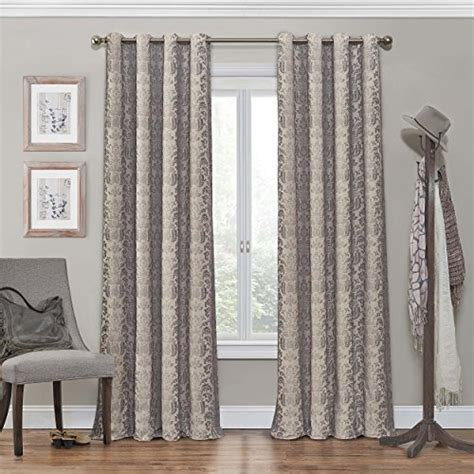 98 inch blackout curtains eclipse 12996052084lin nadya 52 inch by 84 inch grommet
