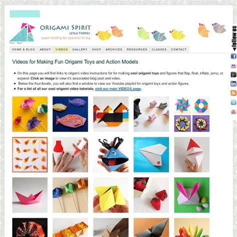cool origami toys and figures origami