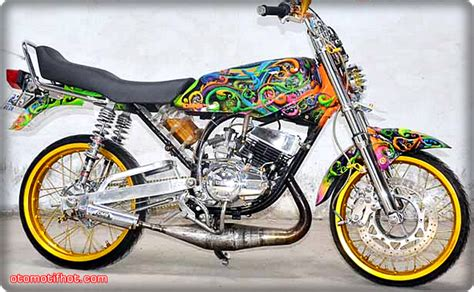 Lu Led Motor Rx King spesifikasi harga dan gambar modifikasi motor rx king