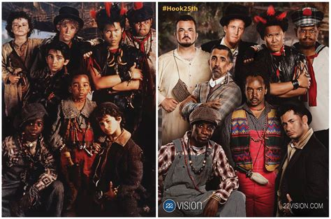 film up voices the lost boys from hook celebrate the 25th anniversary