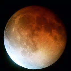 what color is the moon tonight tonight live as a total lunar eclipse turns the
