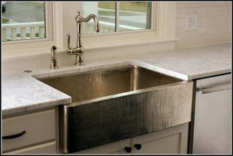 Hammered Stainless Steel Kitchen Sink Hammered Stainless Steel Farmhouse Kitchen Sink Sinks And Faucets Home Design Ideas 7g13kjl1wz