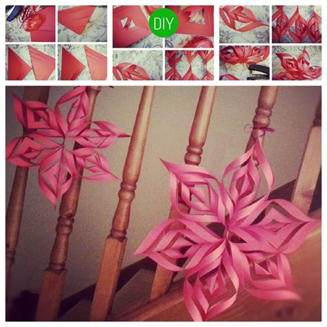 paper crafts for home decor how to make a 3d paper decoration image 1947312 by ksenia l on favim