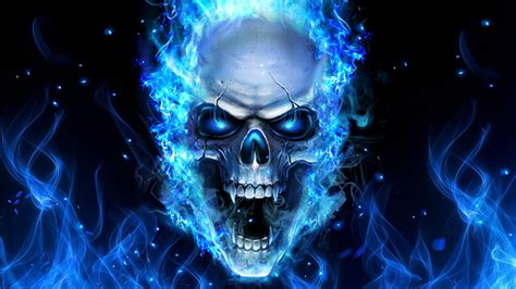 blue skull live wallpaper android apps on play