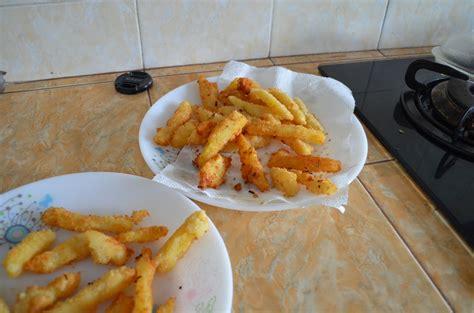 kentang goreng ala abang abang  bara catatan belajar masak