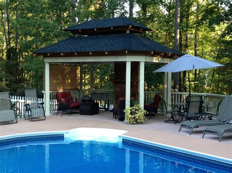 pool gazebo 14 great garden gazebos hgtv