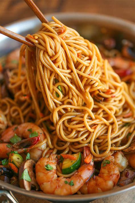 quick fix asian noodle recipes damn delicious