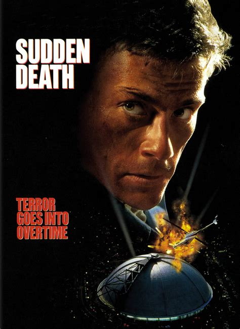 watch online sudden death 1995 full movie official trailer poster for sudden death 1995 usa wrong side of the art