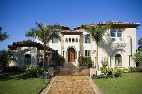 Style Homes Plans Mediterranean Style Home Designs Architecturein
