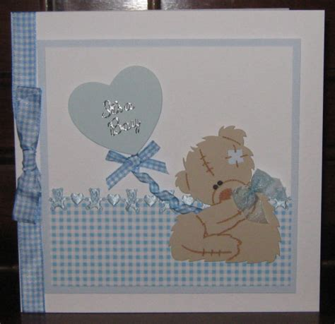 New Baby Handmade Cards - new baby boy cards windrush cards crafts