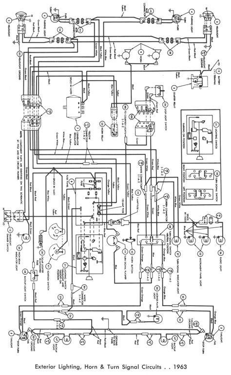 64 ford falcon wiring diagram wiring diagrams image free gmaili net 64 ford wiring diagram wiring diagram