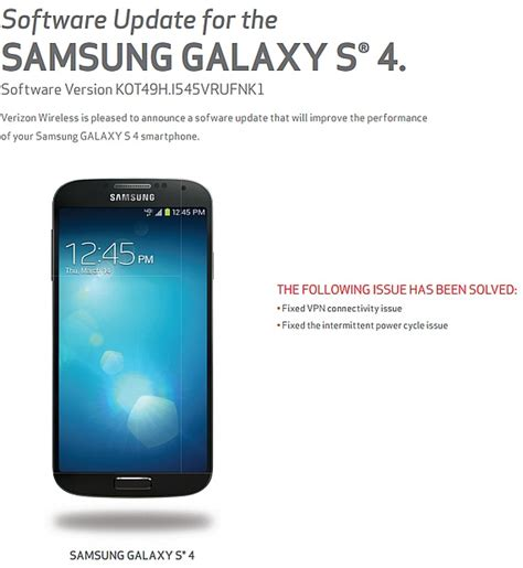 samsung galaxy s4 android 5 0 samsung galaxy s4 gets minor update android 5 0 lollipop coming soon notebookcheck net news