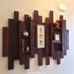 A Few Useful Decorating pallet shelves for wall decor recycled things