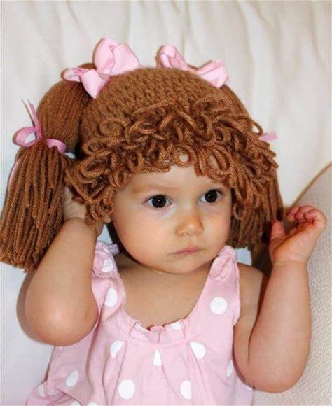 crochet hair look hat patterns 9 diy crochet baby hats and pattern diy to make