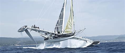 trimaran pik a revolution in sailing hydroptere