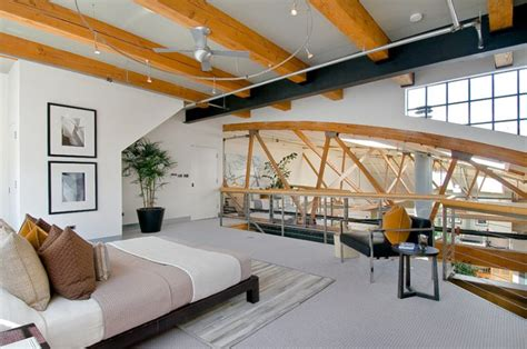Industrial Bedrooms by The Pros And Cons Of Living In A Loft