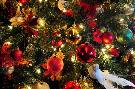 new year tree decorations decorating a new year tree in the year of the