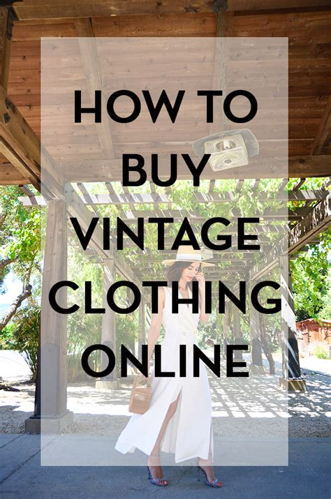 how to buy vintage clothing