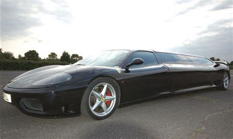 limousine ferrari the coolest limo s online the grayline automotive blog