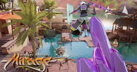 Mirage Arcane Warfare Giveaway - new trailer featuring mirage arcane warfare bridge map