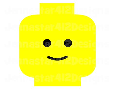 lego inspired lego head diy printable iron by