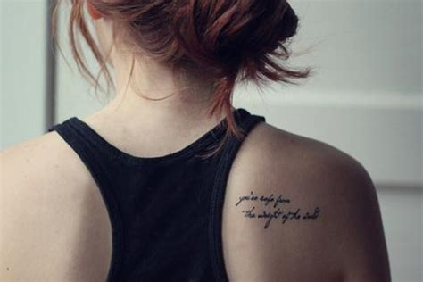 tattoo quotes on your shoulder 50 inspirational quotes tattoo