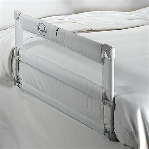 double sided bed rail sleeptite double two sided portable bed rail by regalo