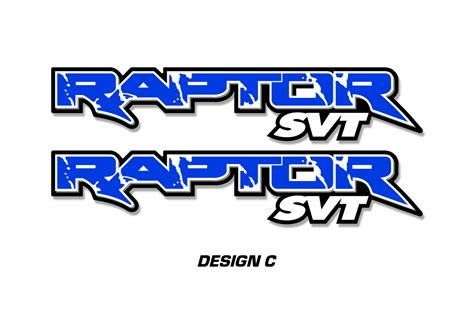 Truck Bed Decals Raptor Svt Truck Bed Graphic Decal Sticker Set For Ford