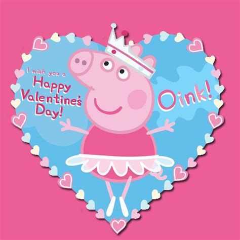 peppa pig valentines coloring page your loved ones will squeal over these peppa pig