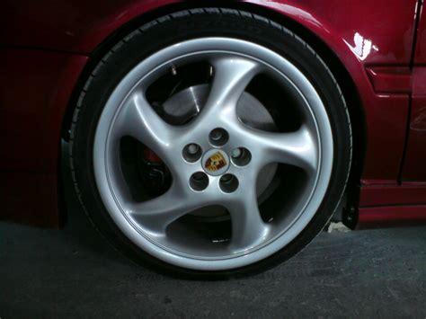 Porsche Turbo Felgen turbo rad porsche turbo look felgen 8x18 lk5 100 biete