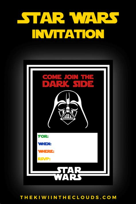 printable invitations star wars the best star wars party ideas happiness is homemade