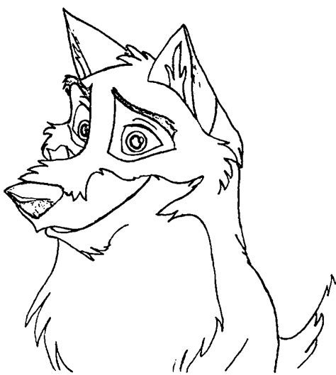 balto cartoon coloring pages coloring home