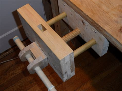 wooden bench vise diy woodworking bench vise with model inspirational