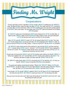Finding mr wright bridal shower games pinterest