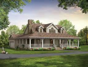 Country House Plans With Porch house the house ideal house dream house plans wraps country houses