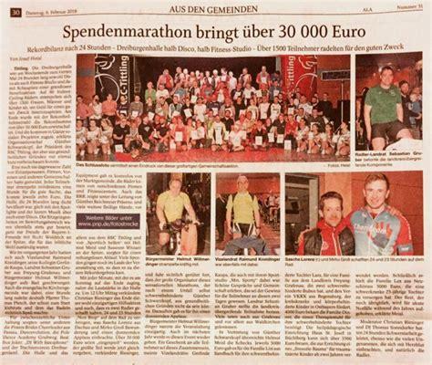 vr bank hauzenberg passauer neue presse spendenmarathon bringt 252 ber 30 000