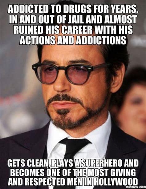 Robert Downey Jr Meme - hats off the robert downey jr memes com