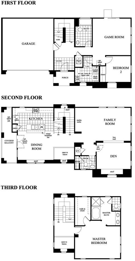 old kb homes floor plans kb floor plans kb homes floor plans paradise pointe by
