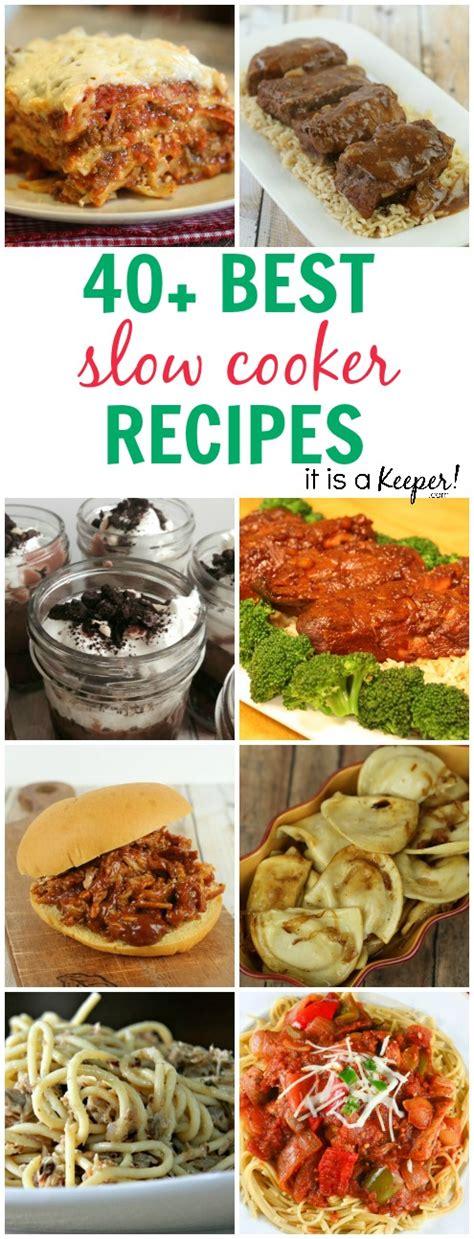 40 easy crock pot recipes