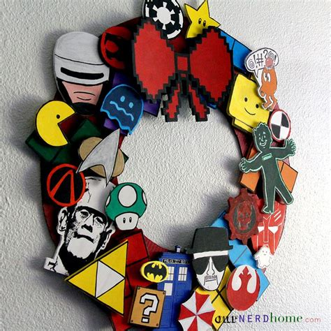 diy geeky decorations diy decor ultimate fandom wreath our