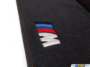 Floor Mats With Bmw Logo 82112293541 Genuine Bmw E82 1m Floor Mats Black With