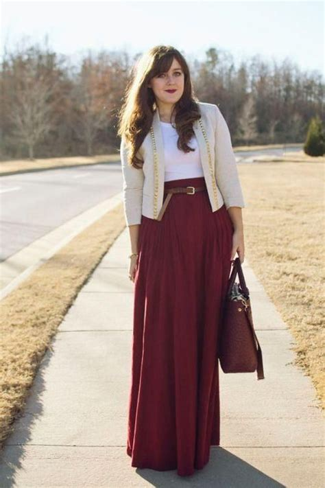 stylish  comfy winter maxi skirt outfits styleoholic