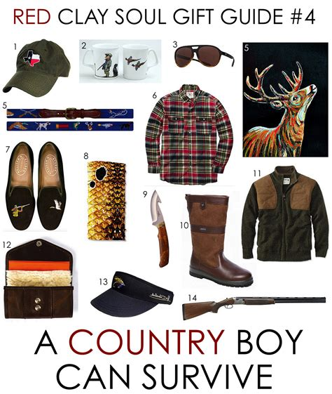 red clay soul gift guide 4 a country boy can survive