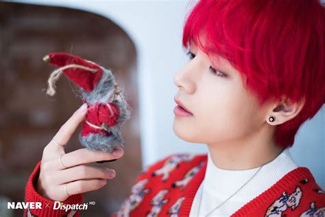 naver  dispatch btss  christmas pictures